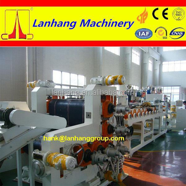 Textile rubberized calender machine 3 roll calendering line