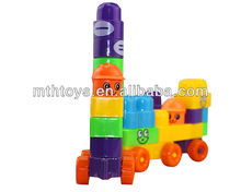 educational plastic building block toys