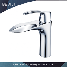Different colors available bathroom hot and cold mixer tap, single hole basin faucets 01 011