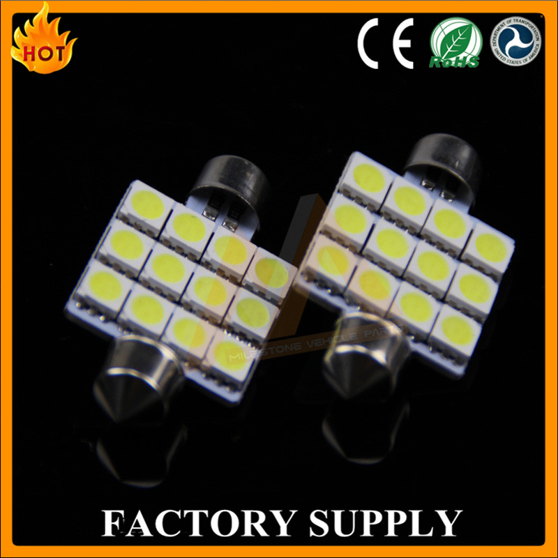 Newest Coming Auto LED Bulb LED Car Light 3w C5w 12v 24v Led Car Lamp