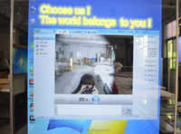 42 inch floor standing lcd digital advertising mirror screen