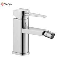 Thermostatic single lever brass high quality single hole bidet mixer