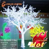 outdoor illumination led cherry blossom tree light wedding tree