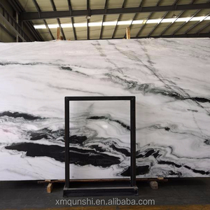 Panda White Marble Slab Price , Marble Floor Design Pictures