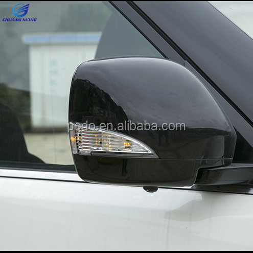 ABS Door Mirror Cover With Light For Nissan Patrol Armada Accessories 2012-2017