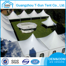 Waterproof 100 % PVC 6x6m Exhibition Event Pagoda Tent Gazebo Marquee Canopy