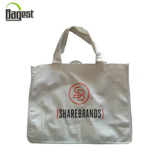 Durable printed ECO friendly promotional recyclable Bamboo fiber shopping bag