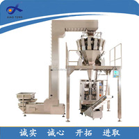 Pre-made pouch filling sealing machine for ranule, premade pouch packing machine, premade bag packing machine
