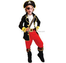 hot selling kids cosplay performance Wear children pirate halloween cosplay costume