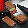 For iPhone 5s Case,CaseMe Wallet Flip Cover Premium PU Leather Magnet Buckle Cover Case for Apple iPhone 5s