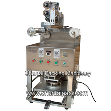 Desktop Pneumatic Tray Sealing Machine with Nitrogen Flushing