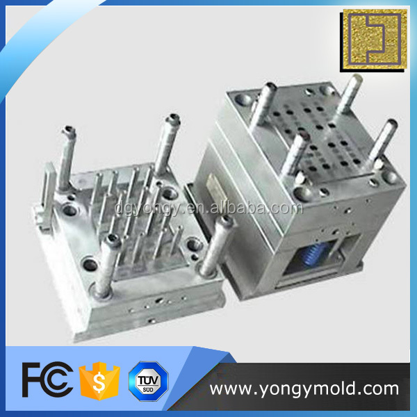 High precision electronic component plastic injection mold processing