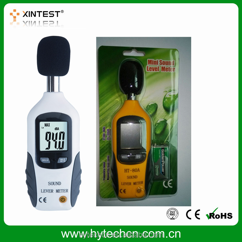 HT-80A Portable noise meter/sound level meter/decibel meter 35-130dB