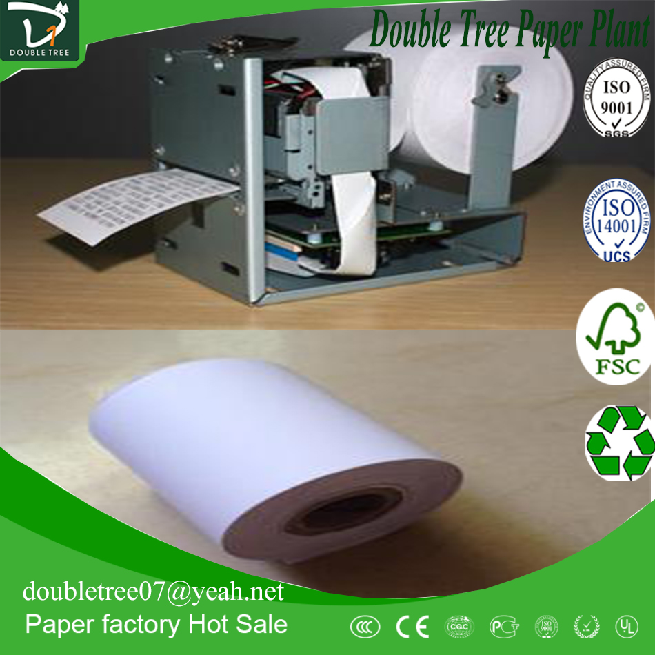 55g-80g Thermal Fax Paper in Rolls/ATM POS Printer Thermal Paper/Thermal Cash Register Paper