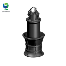 high pressure Submersible mechanical large volume water axial flow pumps for ponds
