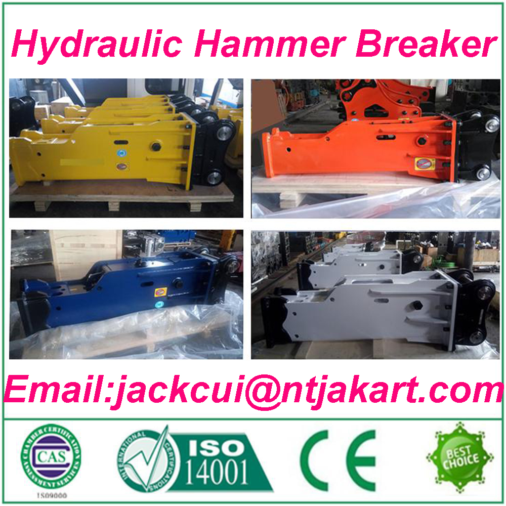 high quality exported Ton crawler machine used rock hammer / rock drills