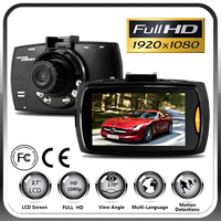 Free Shipping Full HD 1080p Manual Car Cmaera HD DVR 2.7 inch Night Vision Dash Cam HD Car Dvr