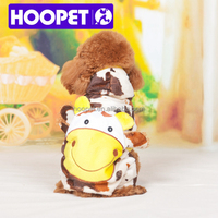 Cosplay baby cow costume wholesale pet clothes for dog chihuahua
