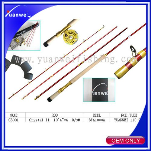 High quality fly fishing combo
