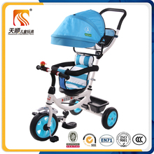 Wholesale cheap baby tricycle with canopy 3 wheel bicycle
