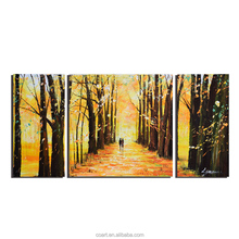 Autumn Landscape Designs Canvas Painting Handmade Fine Art