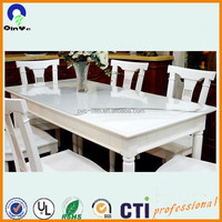 Desk cover flexible PVC Film/transparent soft pvc film/roll pvc film