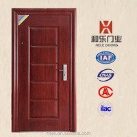 HL-084 Factory manufacturer entry metal building iran door design