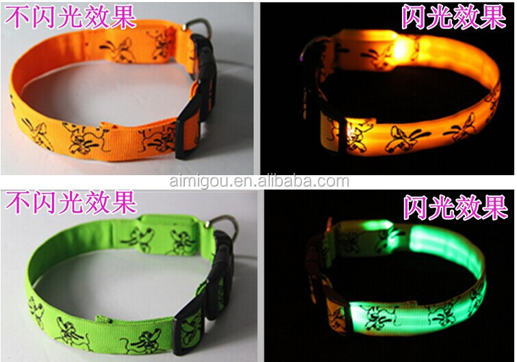 Braided Leather Dog Leash & Lighting Led Pet Leash & Elizabethan Dog Collars