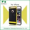 Factory Price Shockproof TPU+PET+Matel kicksand 2 in 1 Armor Case for iPhone 6 / 6 Plus with stand function