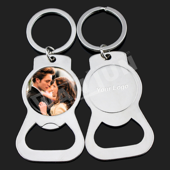 Best tks giving wedding favor bottle opener/wedding keyring/wedding souvenirs gift for guests