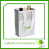 Durable in use two bottle wine carrier bag