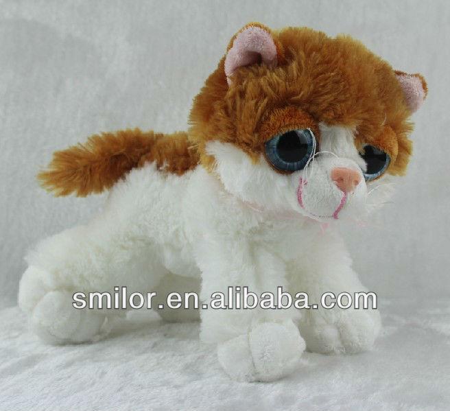 Animato peluche per bambini giocattoli del gatto con gli