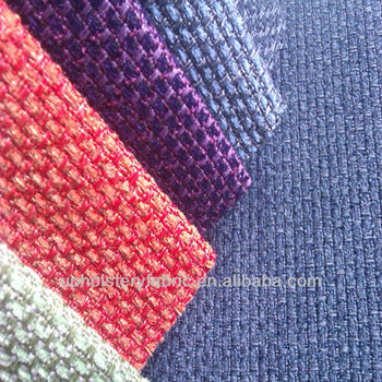 Chenille Polyester Upholstery Fabric NN13009