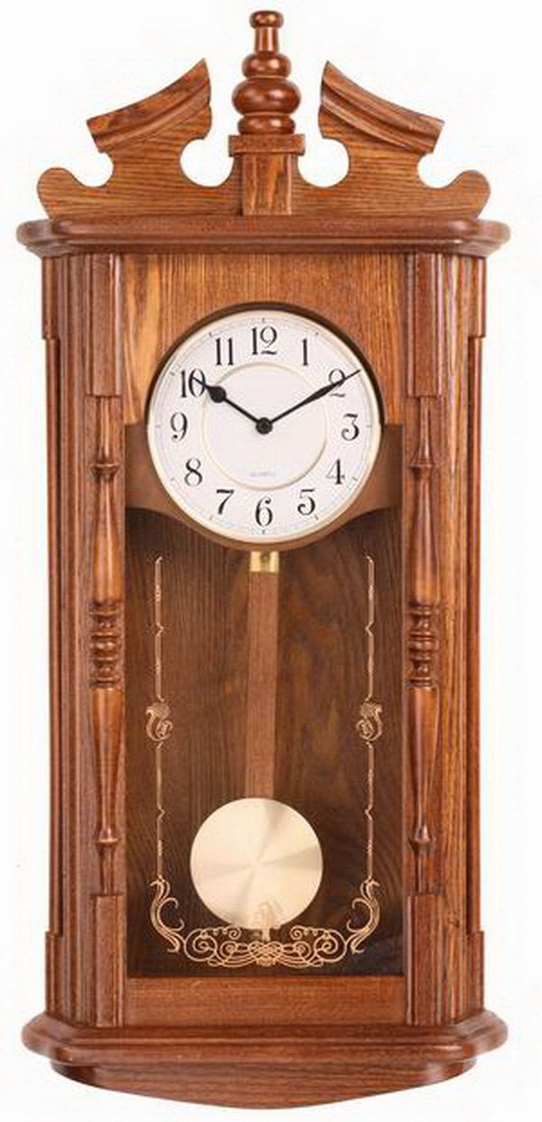 Special antique simple style high-grade promotion fashion wooden clock