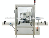 Manual bottle filling and capping machine
