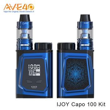 Hot Selling Products 0.3ohm 3.2ml 3750mAh IJOY CAPO 100 Kit CA-M2 coil
