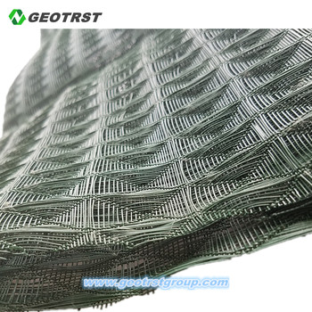 PP/PE 3D erosion control grass mat for landscape or slope protection
