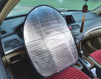 Aluminium Foil with EPE Foam Car Sunshade OEM Steering Wheel Cover