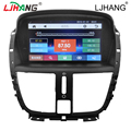 2 din touch screen car gps navigation dvd player for peugeot 207 with bluetooth canbus vedio player
