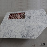 good price kitchen solid surface acrylic countertop