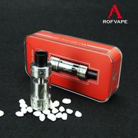 Alibaba Rofvape Chris B RTA Atomizer Vape Cotton T3 Vaporizer Electronic Electric Cigarette Free Sample Free