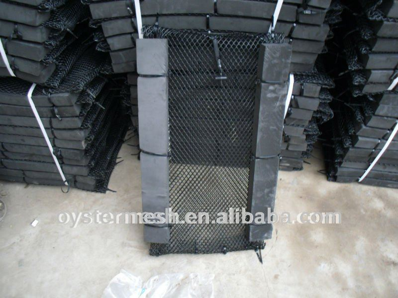 High quality HDPE sponge floating Oyster cage