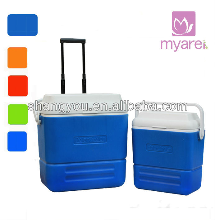 36L, 16L plactis insulated portable picnic lunch cooler box combo