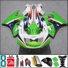 ZX-250R 1993 1994 1995 1996 1997 ZXR 250 green white Body Kit Fairing For Kawasaki ZX2R ZXR250 ZX 2R
