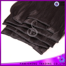 Hight quality products human hair extension made in france hair clip