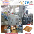 WPC PVC decorative wall panel extrusion machine