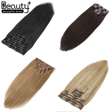 Wholesale Natural Clip Extensions Remy Human Clip In Hair Extensions For African American,Clip In Human Hair Extensions