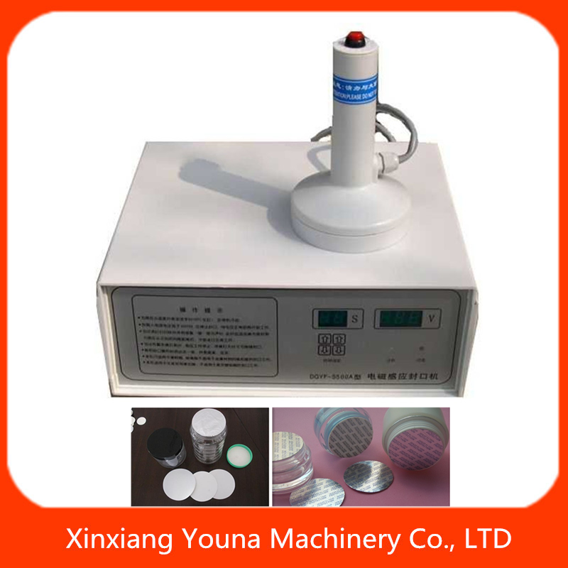 manual glass bottle induction aluminum foil sealer