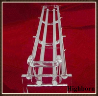 clear quartz wafer carrier for sola system