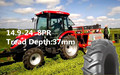 CHINA factory best selling R1 pattern agricultural tractor tire 14.9-24 good quality nylon